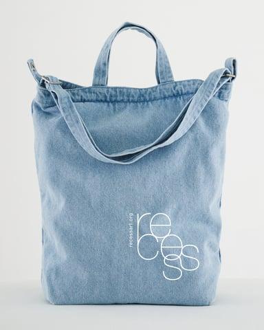 Image of Denim Tote Bag  - Light Wash