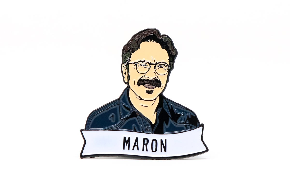 Image of Marc Maron Enamel Pin