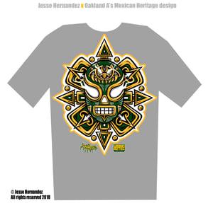 Image of Urbanaztec x Oakland Athletics Shirt (Pre-Order)
