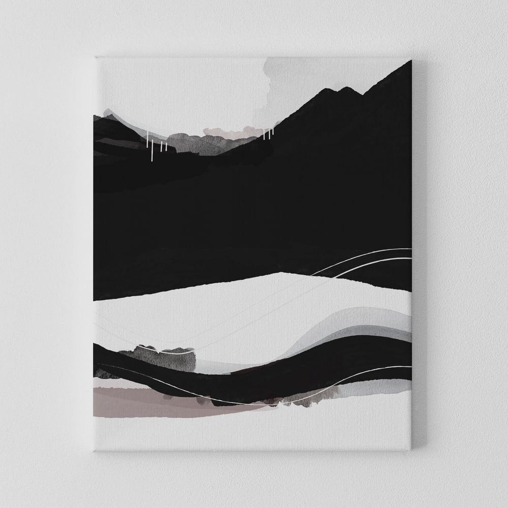 Image of Cascadia Landscape No. 3 Canvas Print