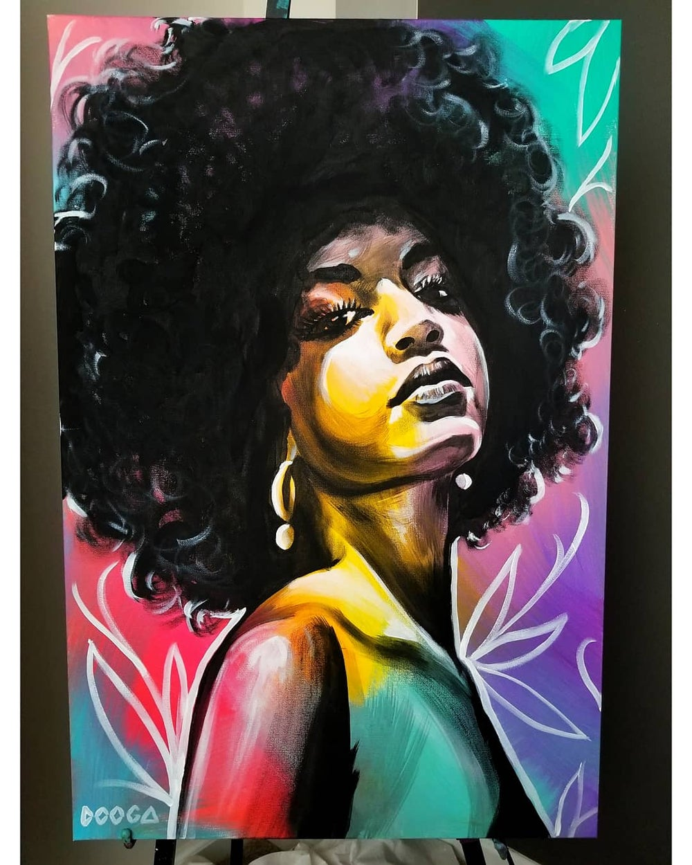 Image of Carefree 4 - Canvas Print