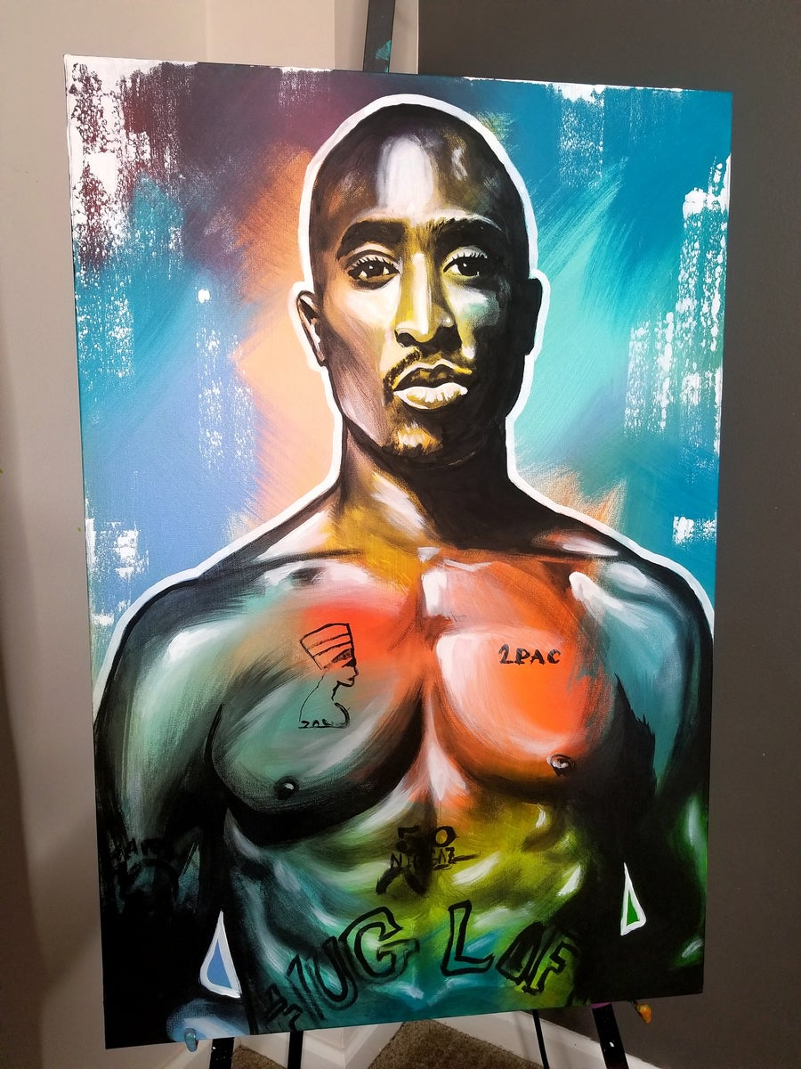 Image of 2Pac - Canvas Print