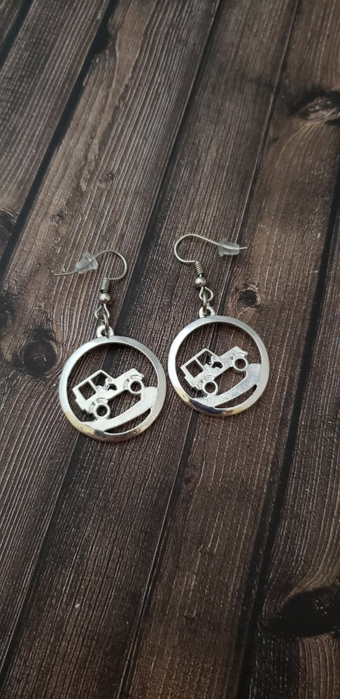 Image of Uphill Climb JEEP Earrings