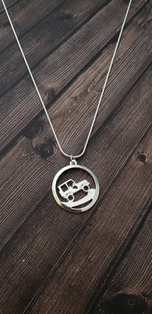 Image of Uphill Climb JEEP Necklace
