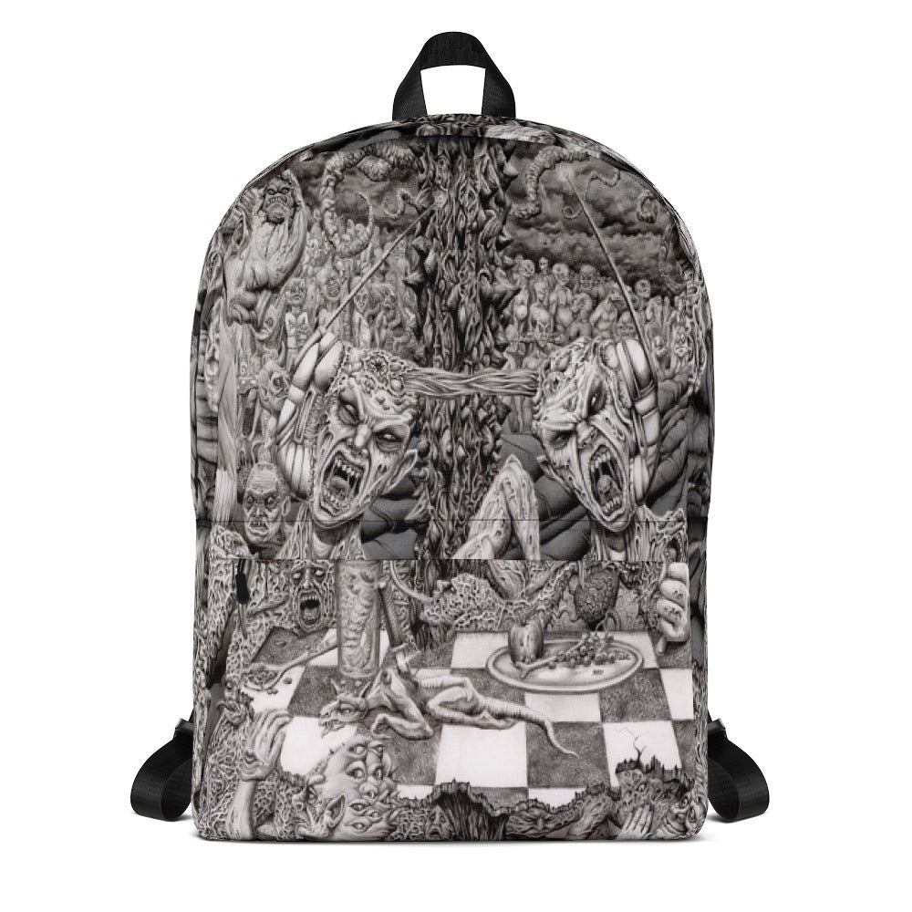 Image of Hell's Diner All Over Print Backpack by Mark Cooper