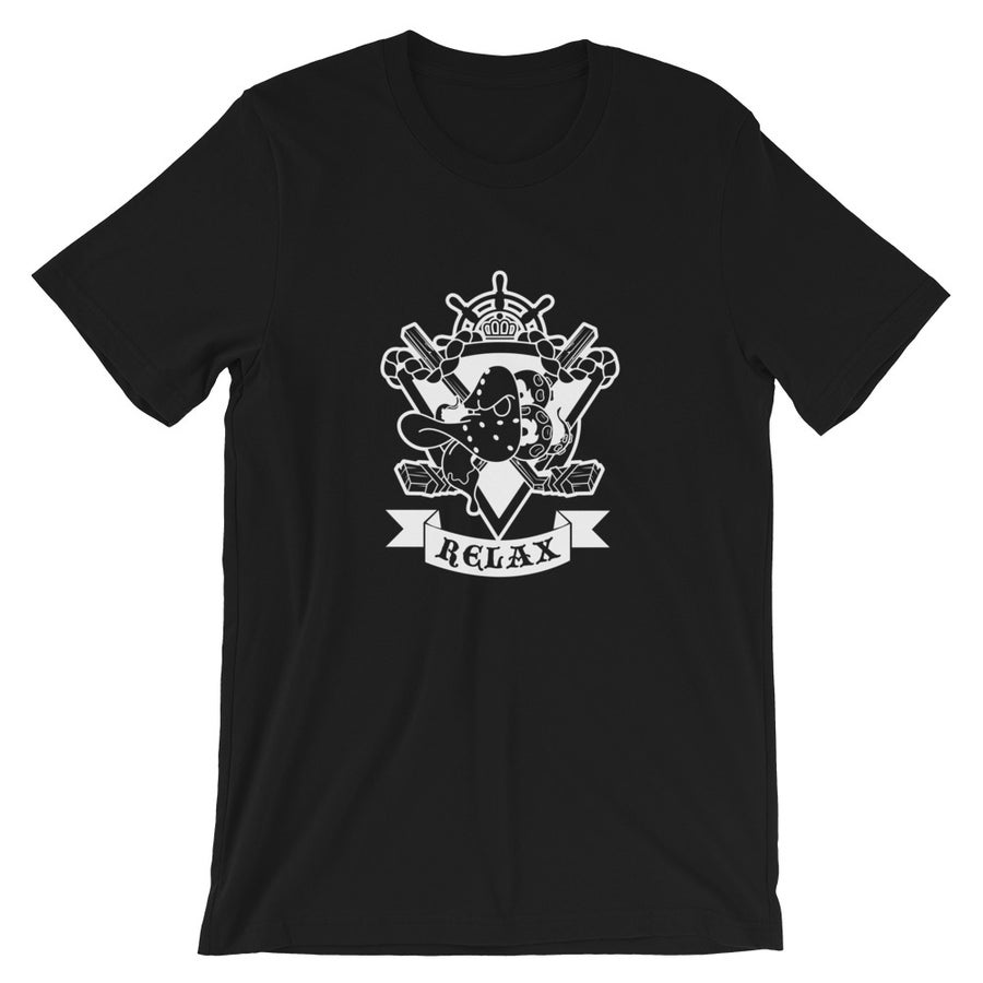 Image of Relax Mighty Tee Black