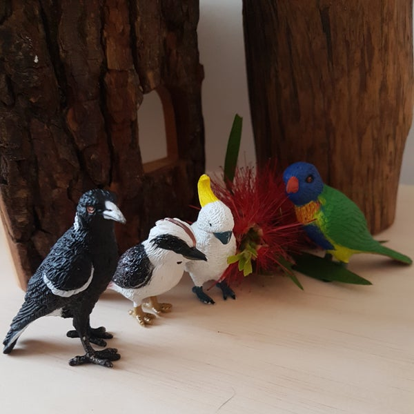 Image of Australian Bird Figurines