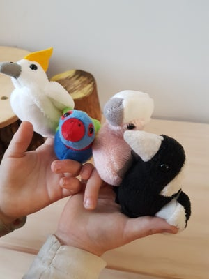Image of Australian Bird Finger Puppets