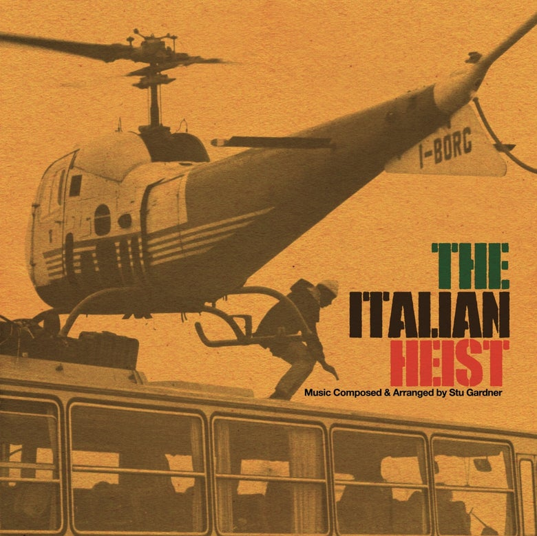 Image of The Italian Heist Soundtrack lp