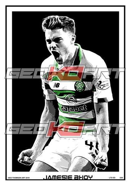 Image of JAMES FORREST CELTIC FC