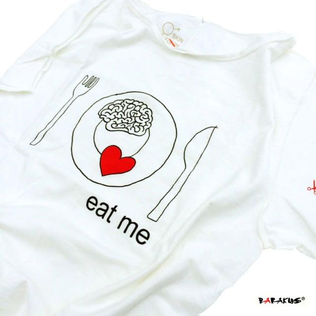 Image of EAT ME T-SHIRT By BARAKUS