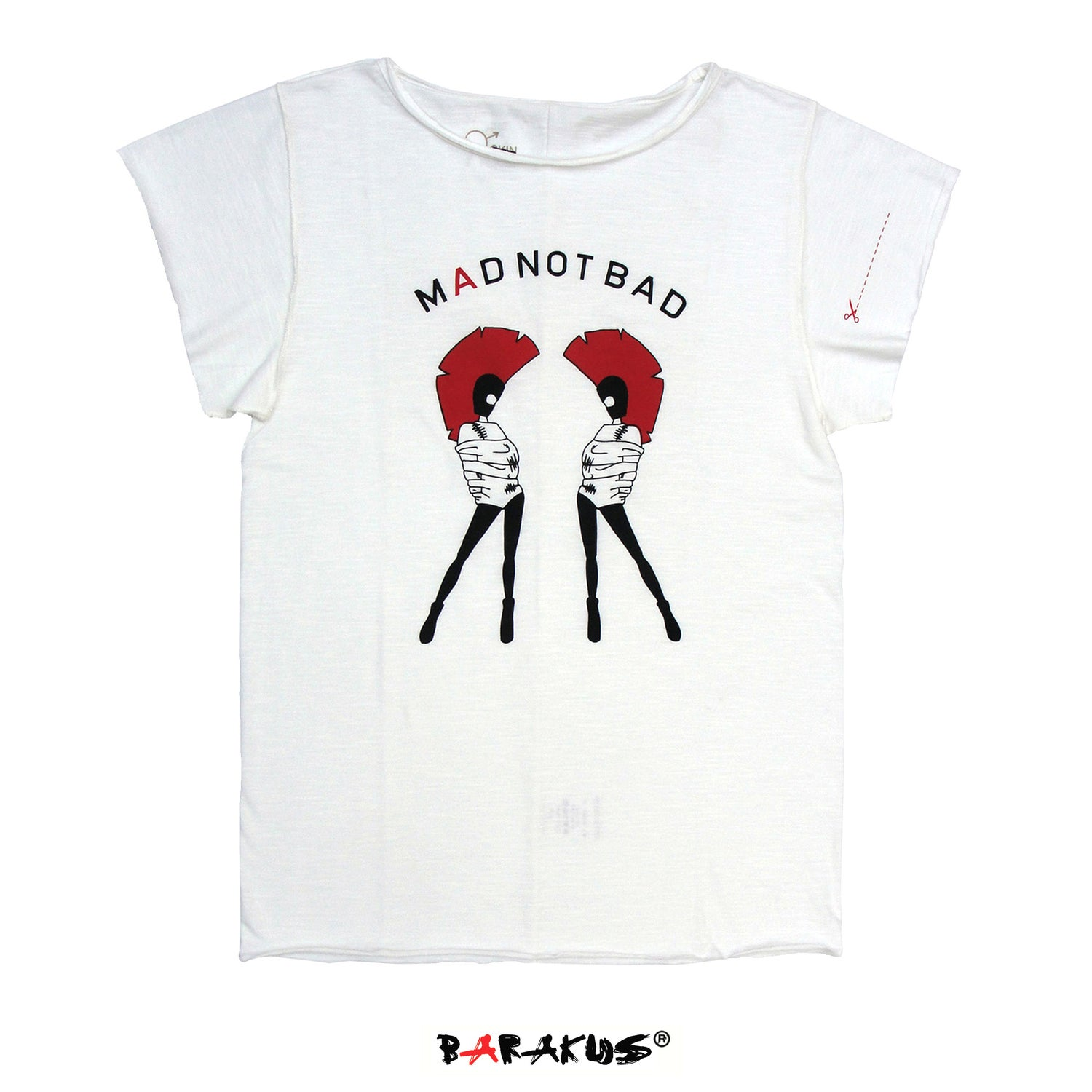 Image of MAD NOT BAD T-SHIRT By BARAKUS