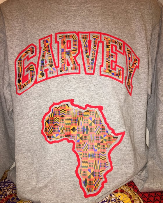 Image of GARVEY KENTE LONG SLEEVE