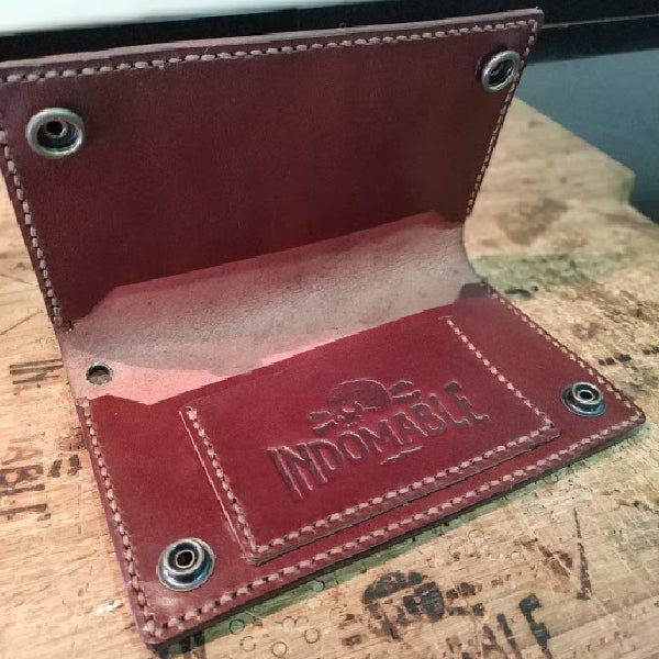 Image of Handmade trucker wallet