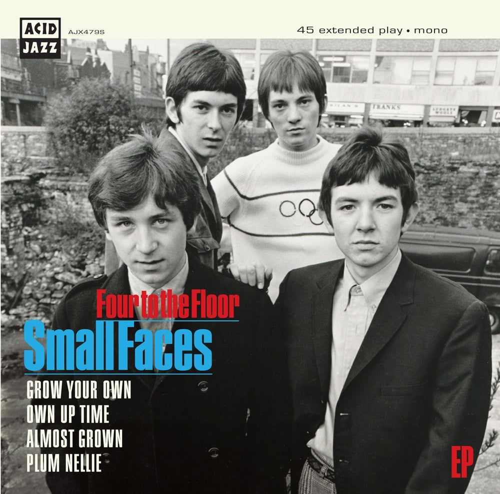 Image of Small Faces 'Four To The Floor' EP' (Pre-order)