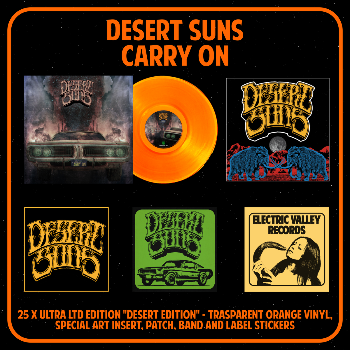 "Image of DESERT SUNS - CARRY ON Ultra LTD ""Desert Edition"""
