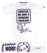 Image of HOUSTON, WE HAVE A DRINKING PROBLEM TEE