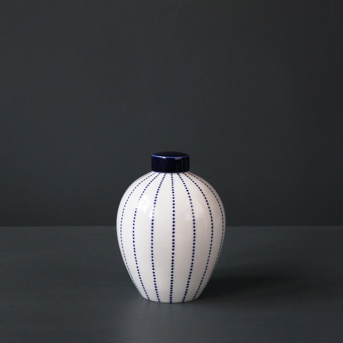 Image of 'Dotty' Ginger Jar by Rhian Malin.