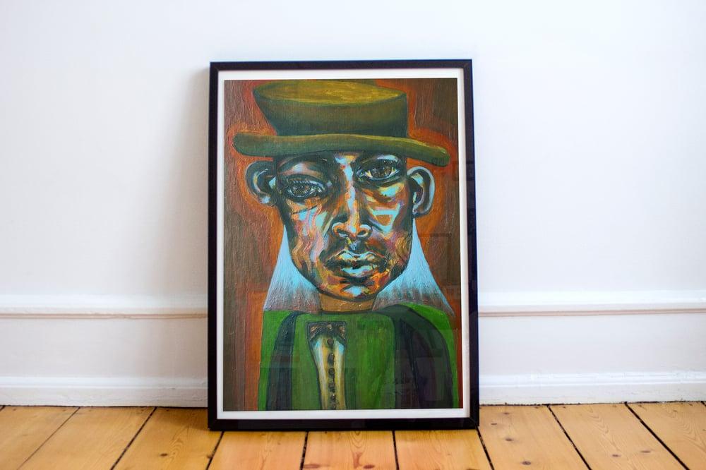 Image of John Coltrane Giclée Print