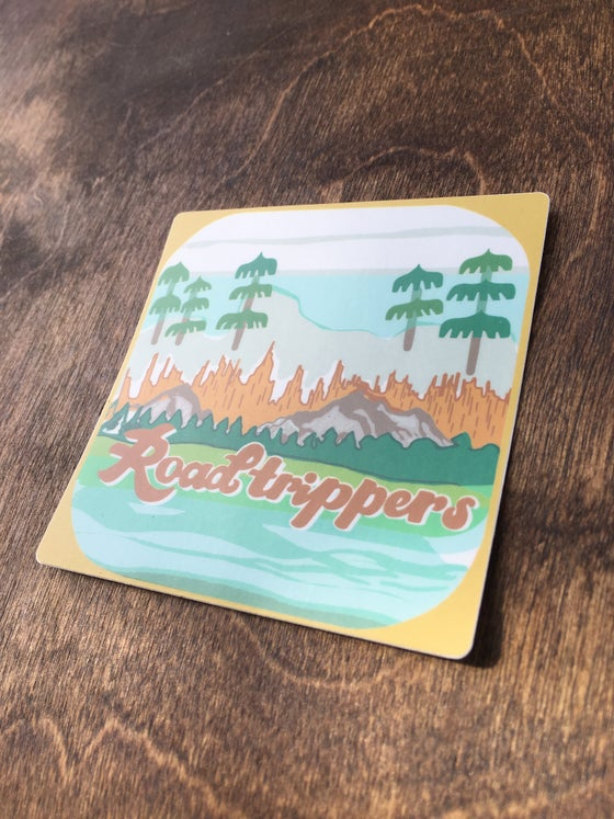 Image of Roadtrippers Vinyl Sticker
