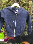 Image of Toddler Zip-Up Hoodie- Navy