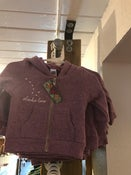 Image of Infant Zip-up Hoodie- Orchid