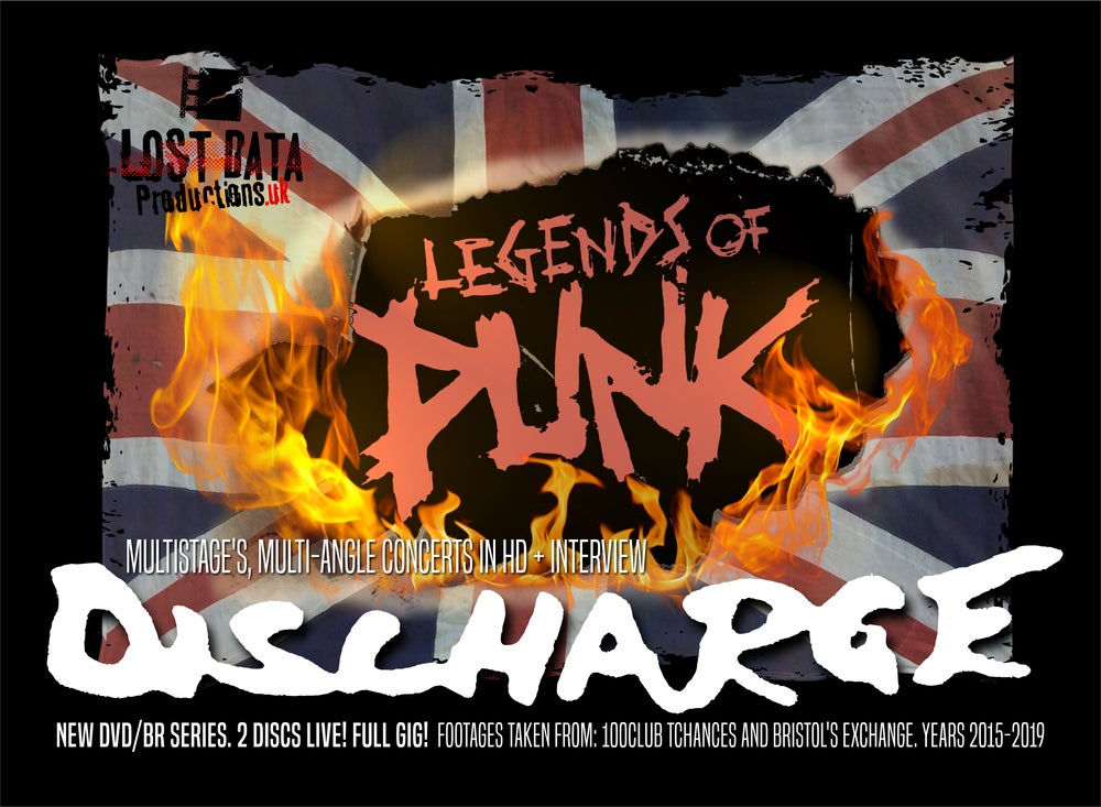 Image of Legends of Punk Vol.1 – Discharge (DVD / BluRay)