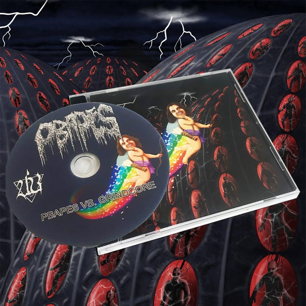 Image of PBAPES VS GRINDCORE pro CD