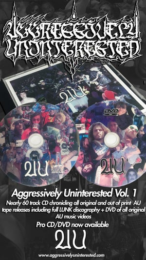 Image of Aggressively Uninterested Volume 1. pro CD/DVD