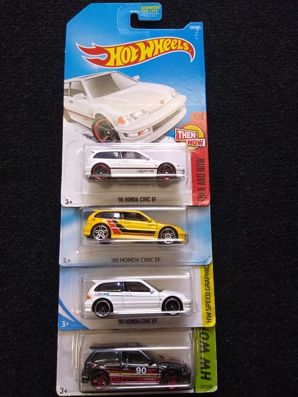 Image of Ef Hatch - Hot Wheels