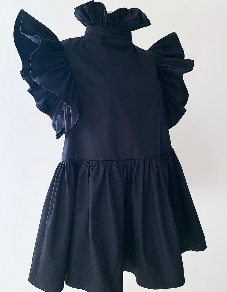 Image of  V O L A N T - Dress / Black