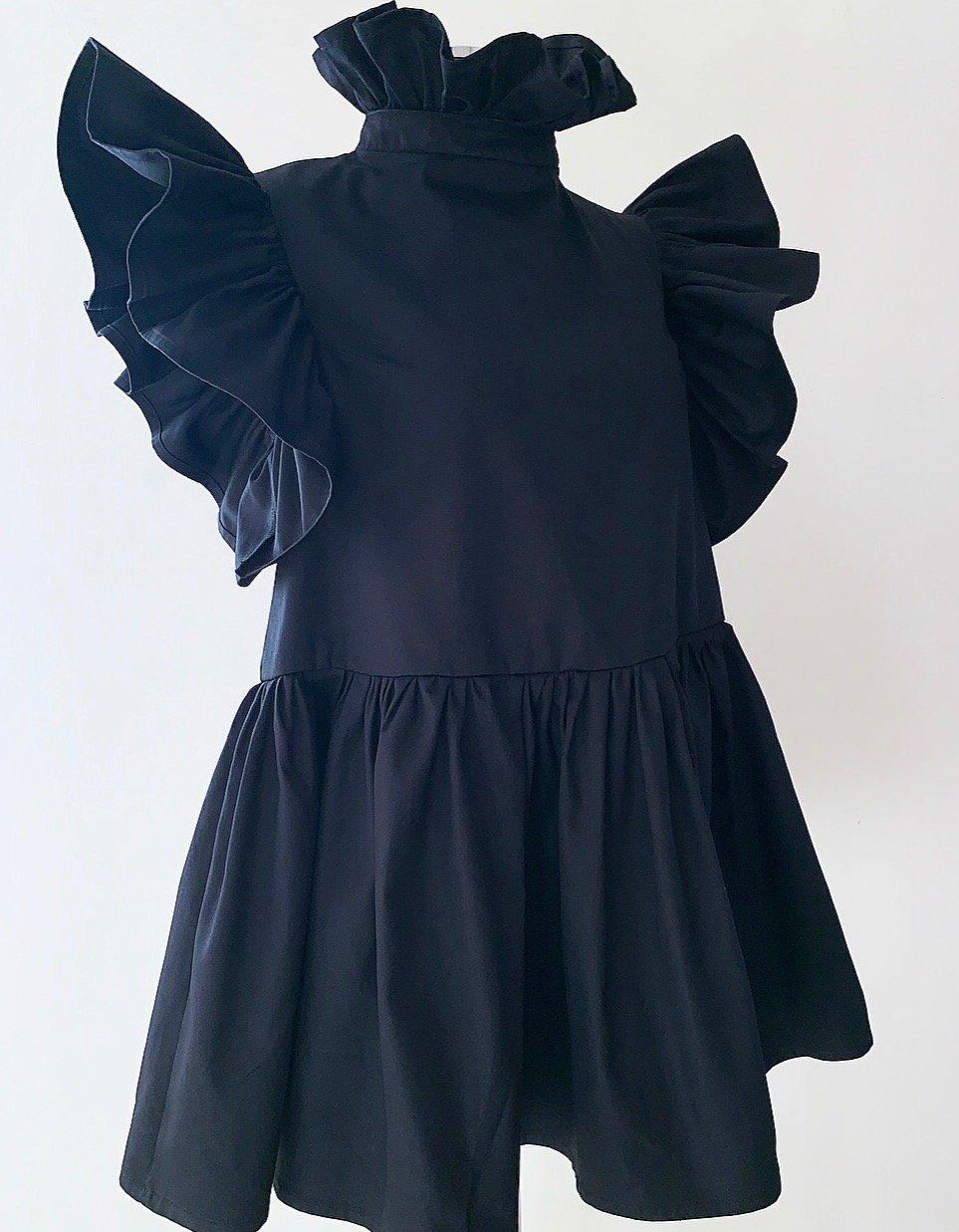 Image of  V O L A N T - Dress / Black