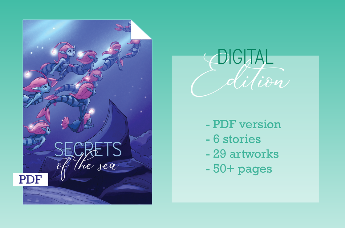 Image of Secrets of the Sea - Digital Zine