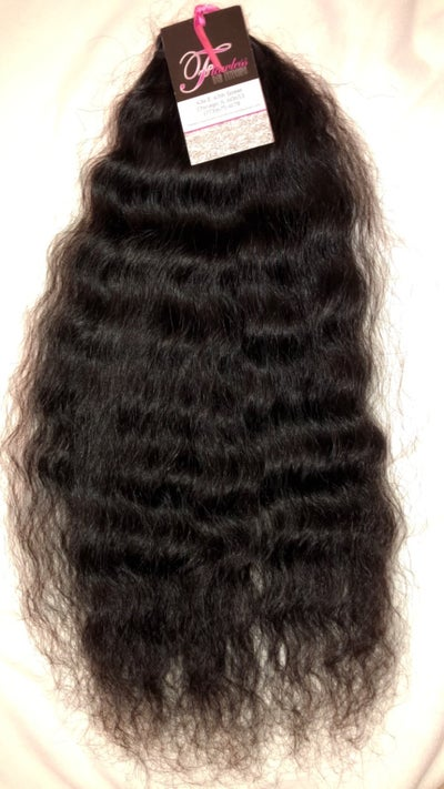 Image of 100% RAW India Temple Curly Hair