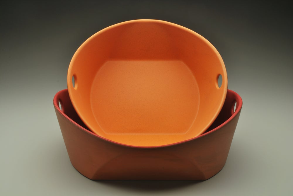 Image of Handled Serving Bowls