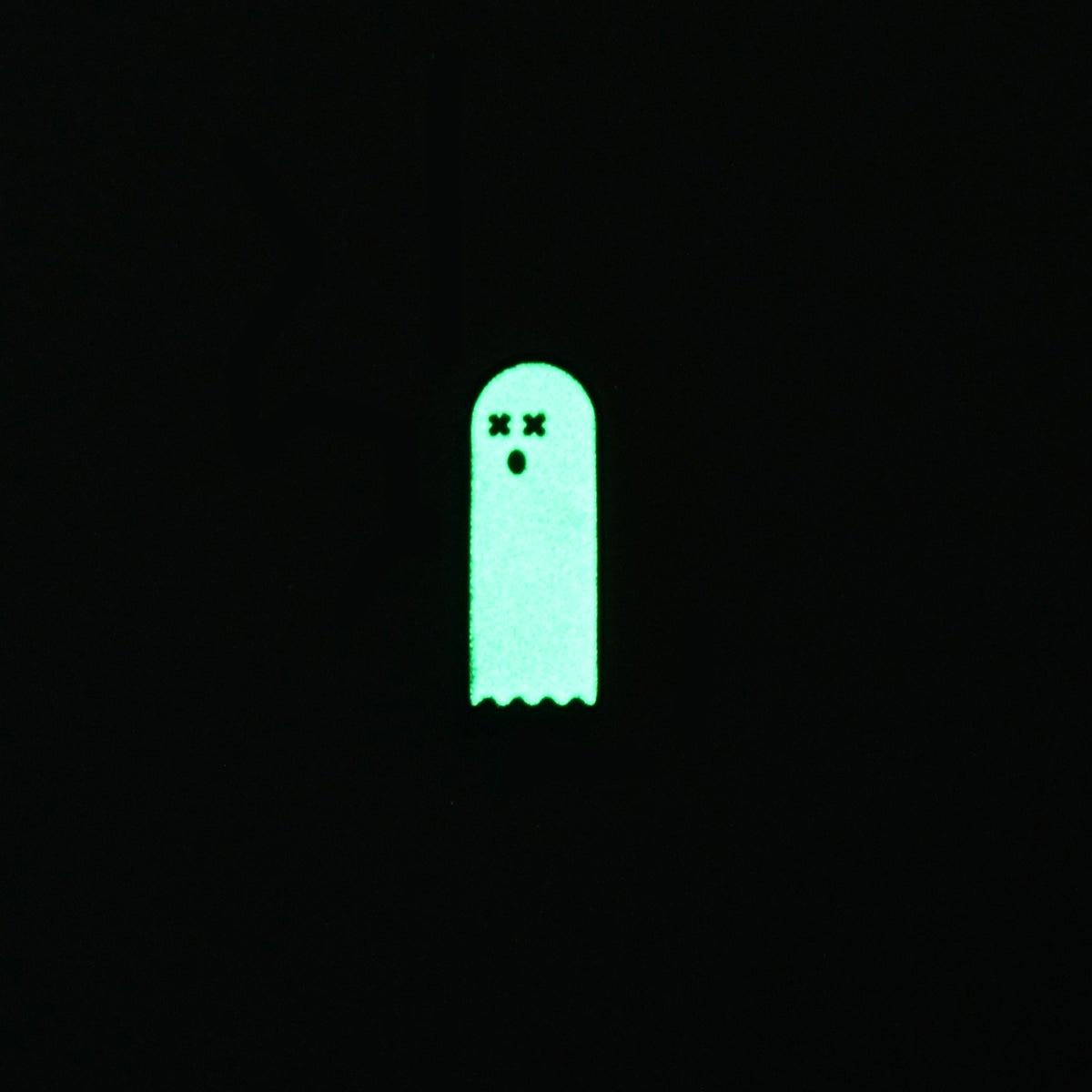 Glowing Dead Ghost Enamel Pin