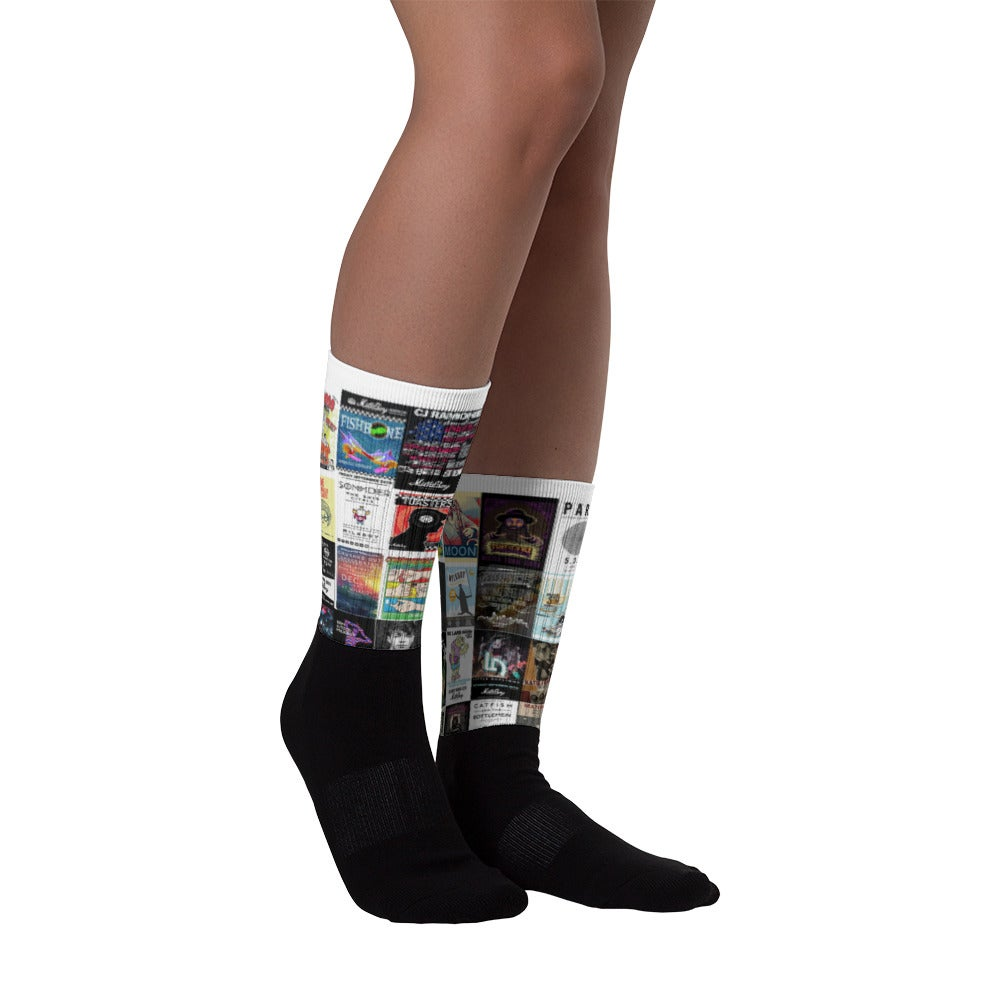 Image of Concert Posters Socks