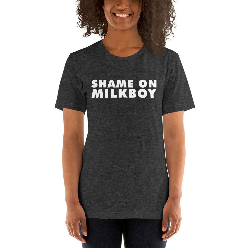 Image of Shame On MilkBoy Classic Union Tee Heather Grey