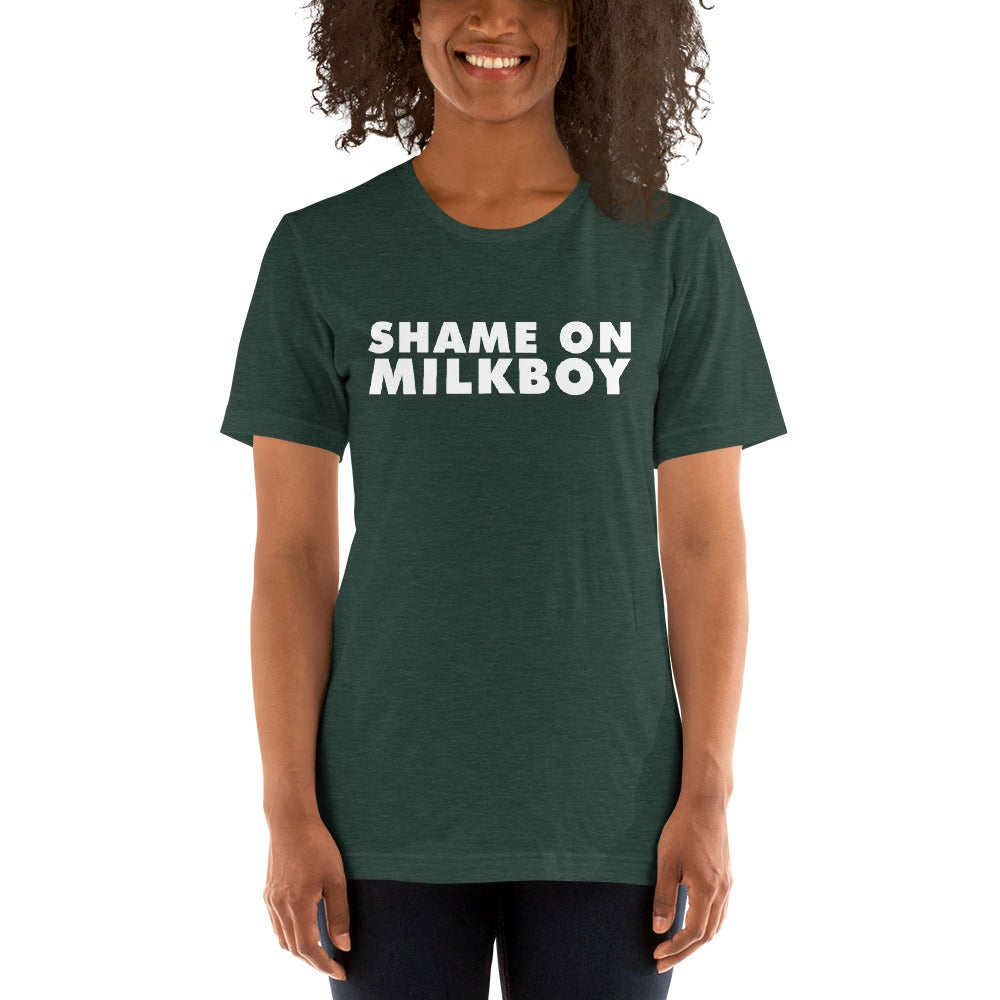 Image of Shame On MilkBoy Classic Union Tee Forrest