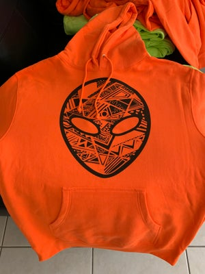 Image of 3M 'Aztec' Alien Hoodies