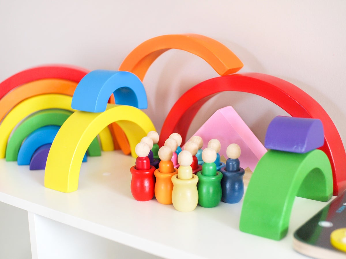 Image of Rainbow Nesting Set