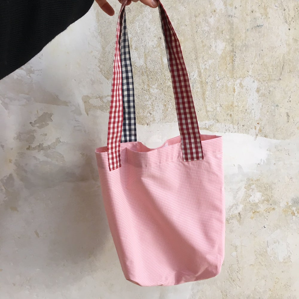 Image of Tote Bag checked