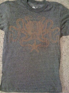 Image of Octopus | Recycled Plastic Crew | Grey Heather