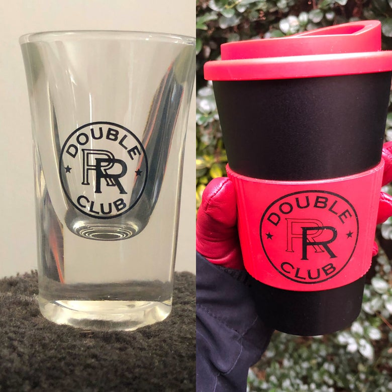 Image of RR Travel Mug/Shot Glass