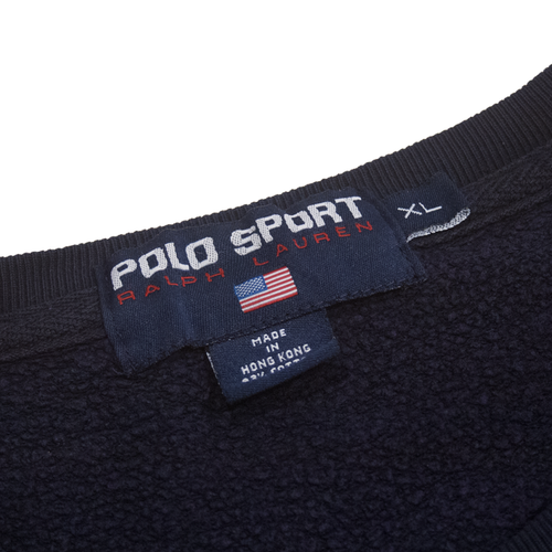 Image of Polo Sport Ralph Lauren Vintage Big Flag Sweatshirt Size XL