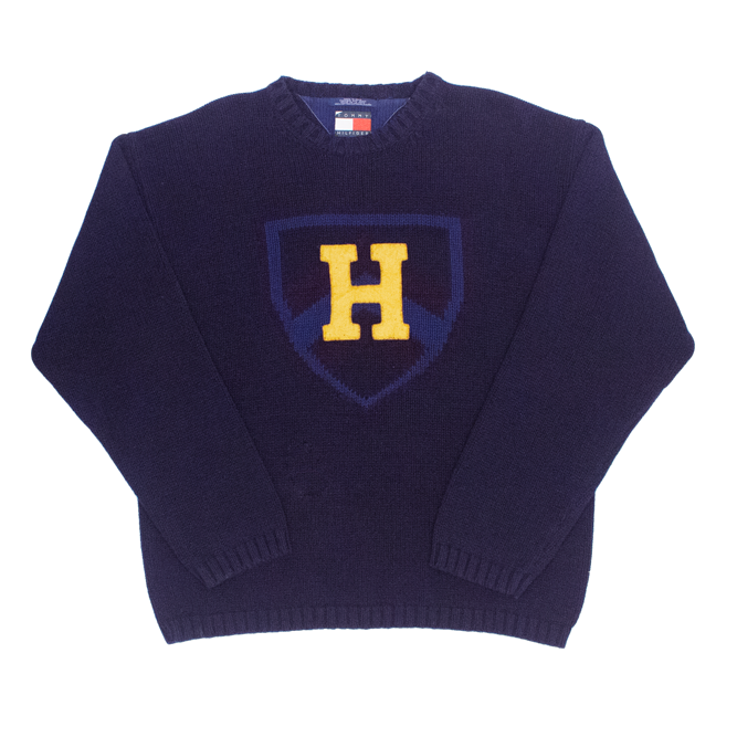 Image of Tommy Hilfiger Vintage Knit Sweater Size L