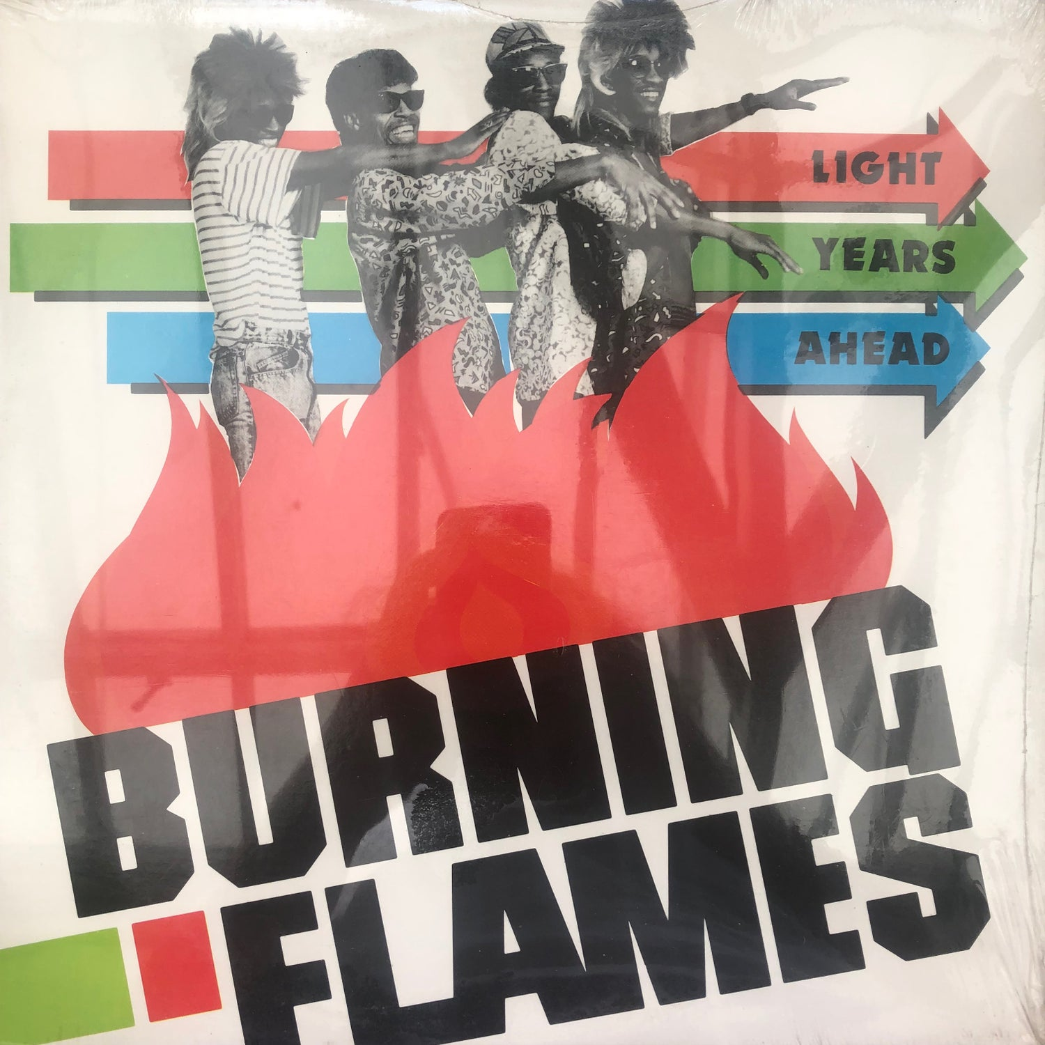 Image of Burning Flames - Light Year Ahead