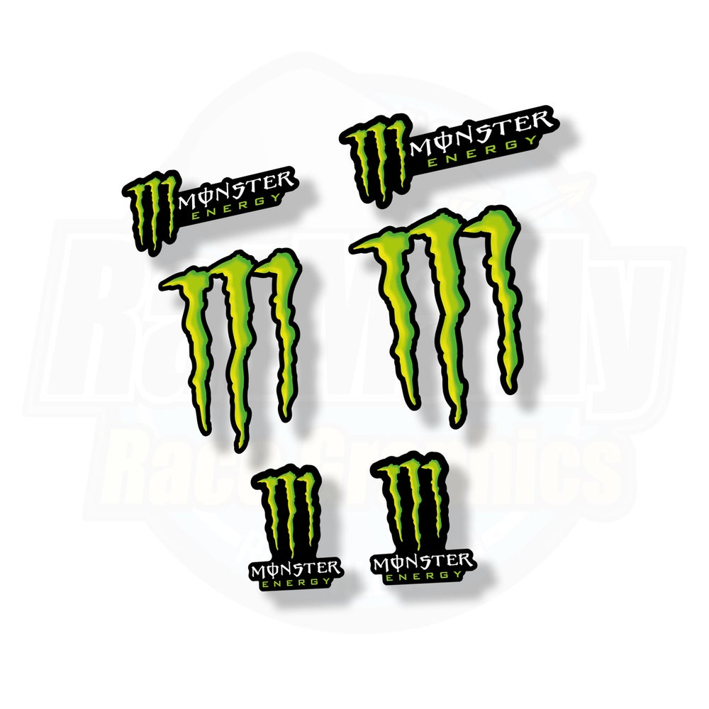 Image of Monster Energy sticker pack