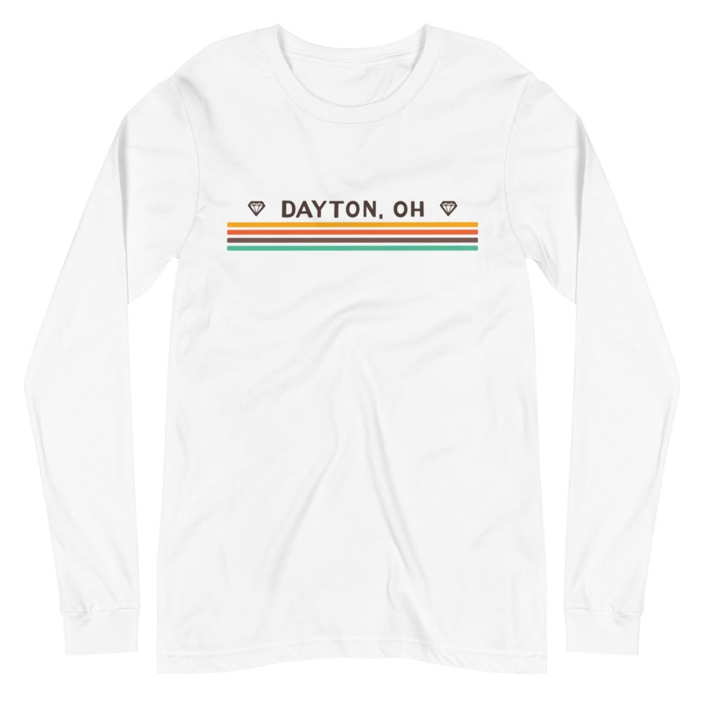 Image of Retro Stripe Long Sleeve