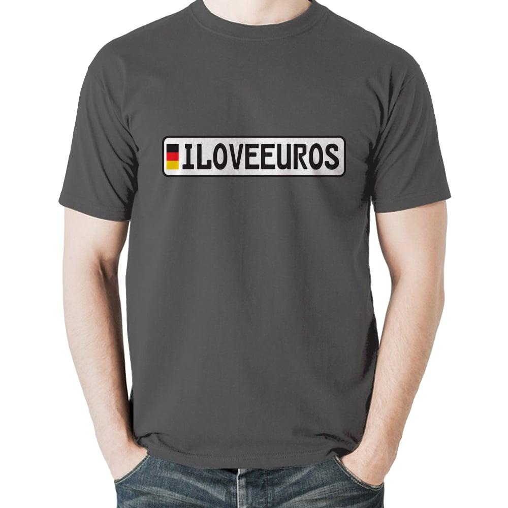Image of iLOVEEUROS - Europlate